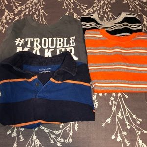 🔥 5 for $25 🔥  4pc bundle tops boys size 3T
